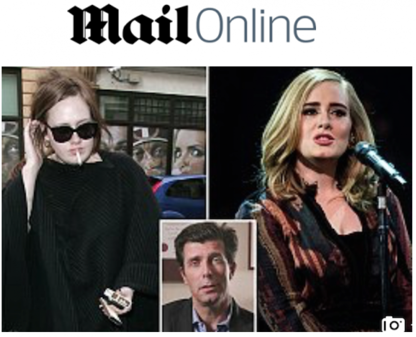 """Featured image for """"'Hello' Singer Adele Stops Smoking and Says Goodbye To 20-a-Day Cigarette Habit"""""""